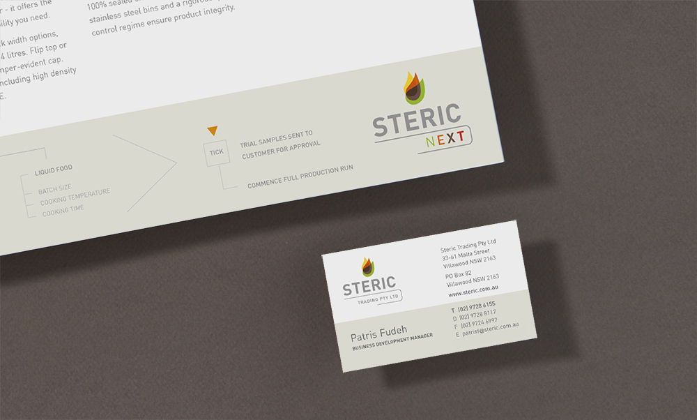 Steric Card