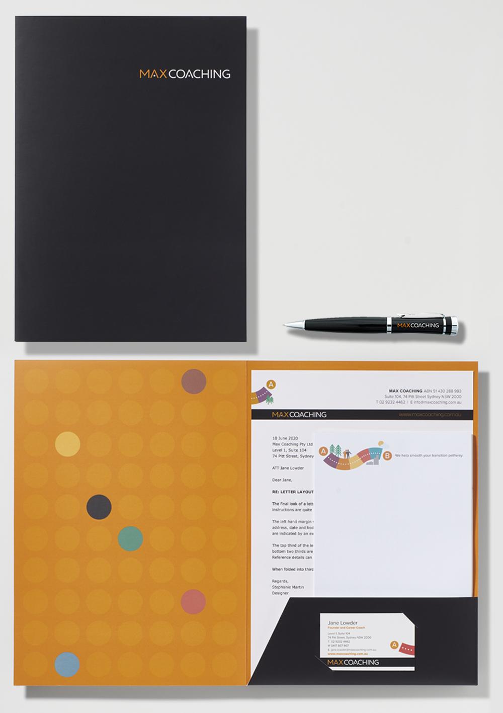Max Coaching Presentation Folder