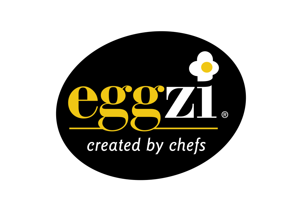 The simple, black, white and yellow colourscheme with black and white photography on the pouch adds credibility. The full colour labels convey appetite appeal and provide product differentiation. Generic pouches in 2 sizes are labelled to create the full range of products including Chefs' Whole Eggs, Chefs' Egg Yolks, Bartenders' Egg Whites, with more products, such as Dessert Egg Whites, to be added to the mix shortly.